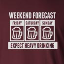 Expect Heavy Beer Drinking  Long Sleeve T-Shirt