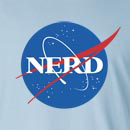 NASA Nerd Long Sleeve T-Shirt