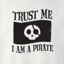 Halloween Trust Me I'm A Pirate Crew Neck Sweatshirt
