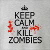 Keep Calm and Kill Zombies Crew Neck Sweatshirt