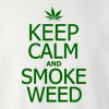 Keep Calm and Smoke Weed Crew Neck Sweatshirt
