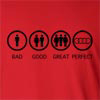 Bad Good Great Perfect Life - Audi  Long Sleeve T-Shirt
