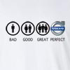 Bad Good Great Perfect Life - Volvo Long Sleeve T-Shirt