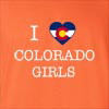 I Love Colorado Girl T-Shirt