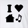 I love House Music  Long Sleeve T-Shirt