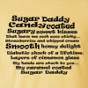 Sugar Daddy Candy Coated Funny T Shirt