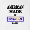 American Made of Bosnia and Herzegovina Parts T Shirt