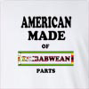 American Made Of Zimbabwe Parts Long Sleeve T-Shirt