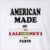 American Made Of Alderney Parts Long Sleeve T-Shirt