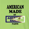 American Made of American Samoa Parts Long Sleeve T-Shirt