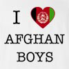 I Love Afghanisthan Boys T-Shirt