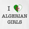 I Love Algeria Girls T-Shirt
