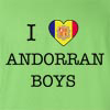 I Love Andorra Boys T-Shirt