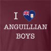 I Love Anguilla Boys T-Shirt