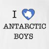I Love Antarctica Boys T-Shirt