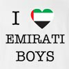 I Love Arab Emirates Boys T-Shirt