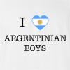 I Love Argentina Boys T-Shirt