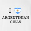 I Love Argentina Girls T-Shirt
